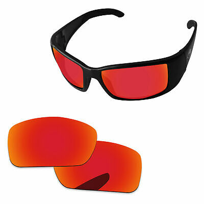 ec5ce44673fd Fire Red Mirror Polarized Replacement Lenses For-Costa Del Mar Blackfin  Sunglass
