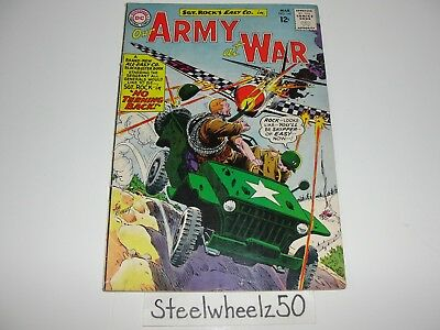 Our Army At War #140 Comic DC 1964 3rd All Sgt Rock & Easy Company Joe Kubert