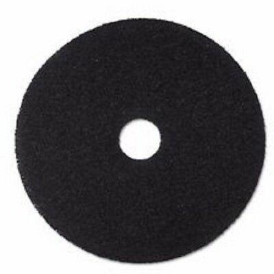 """BRIGHTON  20"""" Black Floor Stripping Pads Qty-5 Pads FREE SHIPPING"""