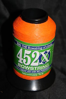 BCY X99 Bowstring Material 1//8# Flo Orange Bow String Making