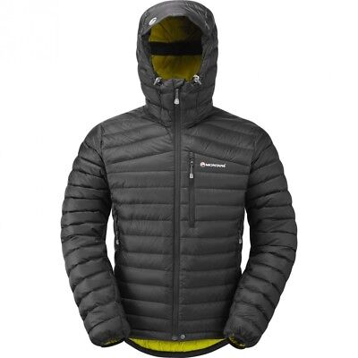 (2X-Large, Black) - Montane Featherlite Down Jacket. Free Delivery