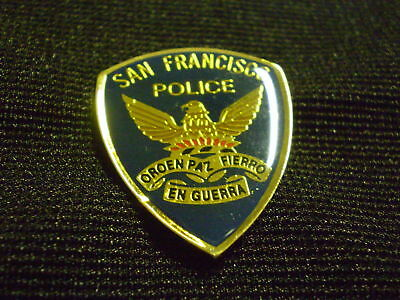 San Francisco Police  Patch  Mini-Badge / Lapel Pin /  Hat Pin / Tie Tac