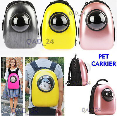 Pet Carrier Backpack Capsule Travel Dog Cat Bag Small Large Breathable Astronaut