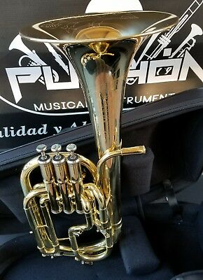 New Edition:John Packer 272 Lacquer + Engraved Eb Alto Horn- Professional
