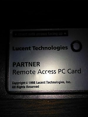 Avaya Partner ACS 12G4 700252455 PC Card, Remote Access PC card