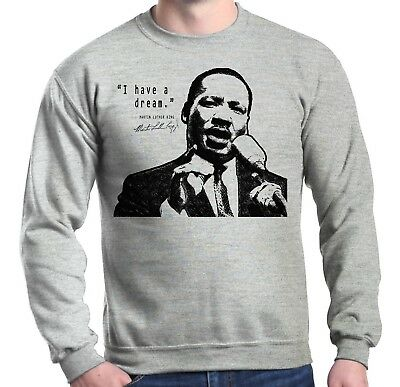Martin Luther King Jr. Crewnecks Dream Speech Civil Rights Sweatshirts
