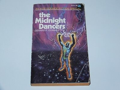 The Midnight Dancers - Gerard F. Conway - Ace Books 1St Pbo 1971 Sci-Fi Sf