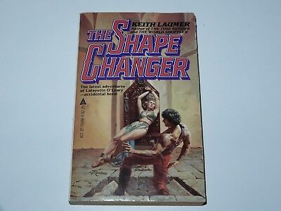The Shape Changer - Keith Laumer - Ace Books 1St Pbo 1981 Sci-Fi Sf