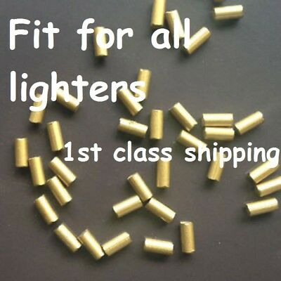 Lighter FLINT Stone Gold Universal for Gas Petrol Clipper HIGH QUALITY Stones UK