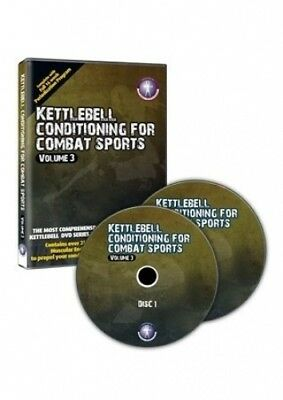 Kettlebell Conditioning For Combat Sports VOL III - 2 Disc DVD PLUS Workout