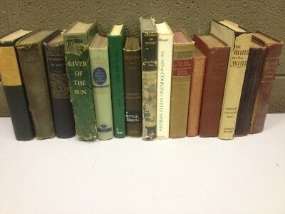 Lot of 10 Antique Collectible Vintage Old Rare Hard To Find Books Random Mixed
