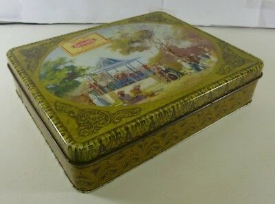 Arnott's Picturesque 'Sunday in the Park', 900g. Biscuit Tin, c.1982