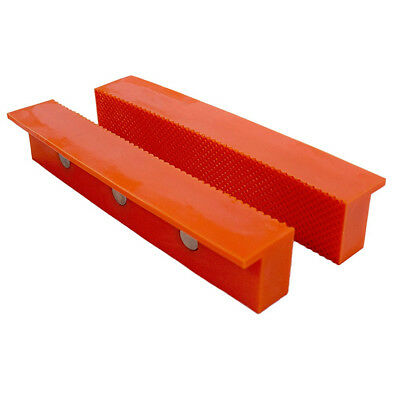 Multi Purpose Vise Jaw Cover 6in Plastic Magnetic Back Metal Bench Grip Tool New