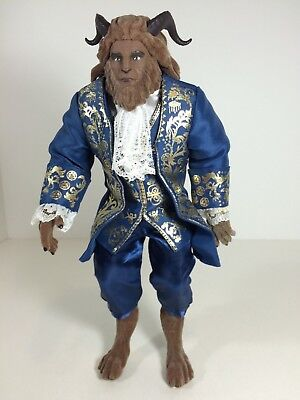 """Disney Store Beauty And The Beast Live Action Film Collection """"BEAST"""" Doll"""