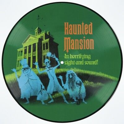 New Disney Parks D23 Haunted Mansion Attraction Soundtrack Vinyl Record