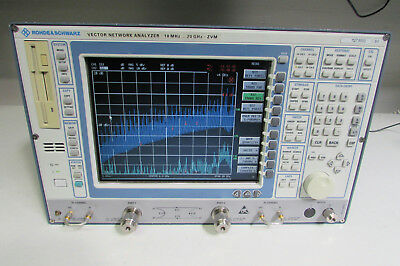 Rohde & Schwarz ZVM Network Analyzer, 20GHz, Calibrated