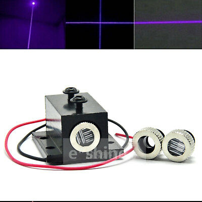 Focusable 405nm 10mw  Violet/Blue Punkt/Linie/Kreuz Laser Dot Diode Modul