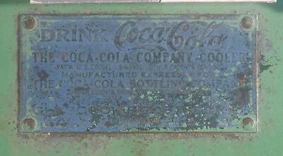 VINTAGE ORIGINAL PARTS  FOR 1930's GLASCOCK-COCA COLA COOLER COKE MACHINE