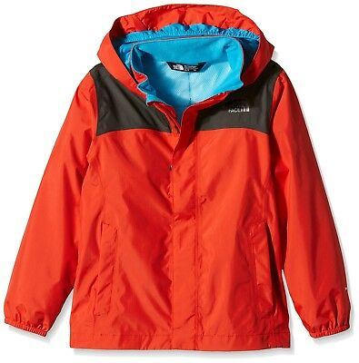 (Large/Youth, Red/Grey/Fiery Red/Asphalt Grey) - The North Face Boy's