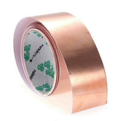 Copper Foil Tape Emi Shielding For Fender Guitars 6 Ft X 2