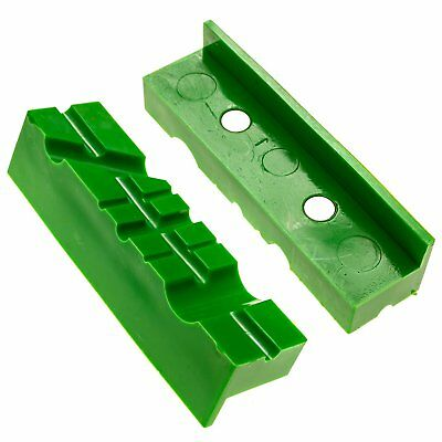 Vise Jaw Plastic Pad 2pc Magnetic Bench Gunsmith Machinist Table Top Clamp 4.5in