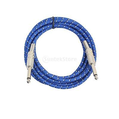 3m - 6.35mm Straight Guitar Cable:Electric/Electro-Acoustic/Bass/Instrument