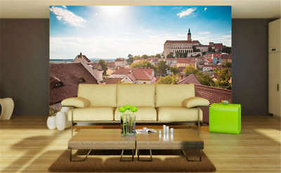 Concise Foreign Town 3D Full Wall Mural Photo Wallpaper Printing Home Kids Decor