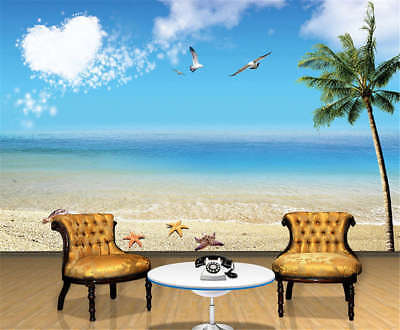 Famous Marginal Sea 3D Full Wall Mural Photo Wallpaper Printing Home Kids Decor