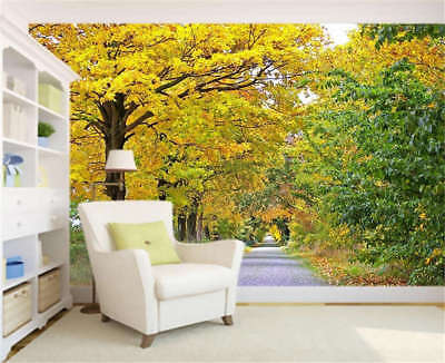 Quiet Cosy Woods 3D Full Wall Mural Photo Wallpaper Printing Home Kids Decor