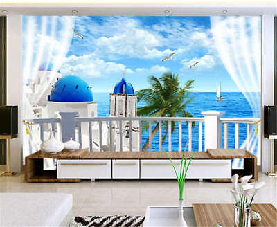 Soft Concise Wind 3D Full Wall Mural Photo Wallpaper Printing Home Kids Decor