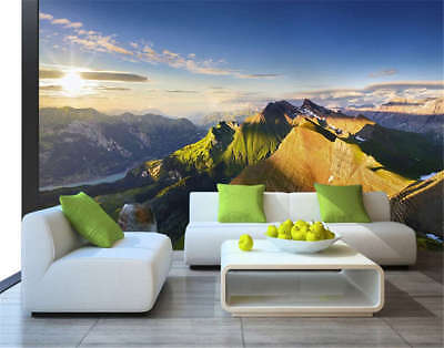 Cosy Vague Cliff 3D Full Wall Mural Photo Wallpaper Printing Home Kids Decor