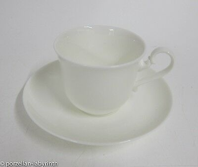 Mokkatasse mit UT Villeroy & Boch Royal weiss Bone China Espresso Tasse