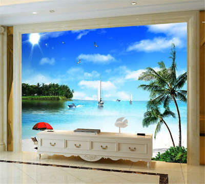 Imperial Quiet Sea 3D Full Wall Mural Photo Wallpaper Printing Home Kids Decor