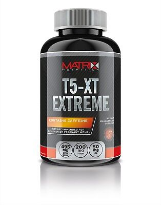 Matrix T5-Xt Extreme 120 Count- Weight Loss - Diet Pills/Tablets - Energy Boost