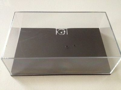 New Perspex Display Case & Plinth -For Old Style Minichamps F1 models up to 2009