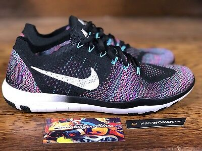 eb362a9cc3f2 New Nike Free Focus Flyknit 2 Womens Training Shoes (880630-002) Size 6