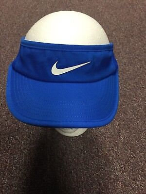 New Nike Women's Feather Light 3.0 Visor 744961 S/M Tennis Running Golf hat $24