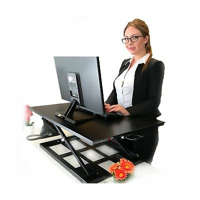 Standing Sit and Stand Up Desk - Easy Height Adjustable Table Jack Desk Conve...