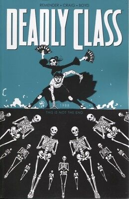 DEADLY CLASS TPB VOL 1 MEDIA TIE-IN EDTION REPS #1-6 IMAGE SYFY SHOW NEW//UNREAD