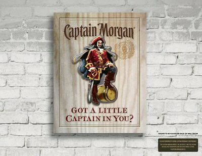 Captain Morgan: Got a Little Captain in You? MDF Wall Sign