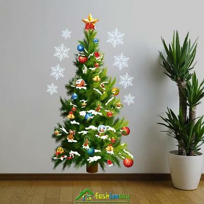 Removable Large Christmas Art Wall Sticker Decal Xmas Tree Home Decoration