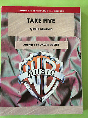Take Five, Paul Desmond, arr. Calvin Custer, String Orchestra
