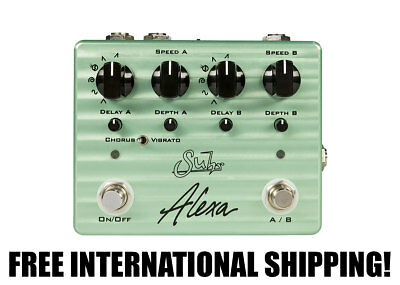 Suhr Alexa Dual Channel Multi-Wave Chorus/Vibrato FREE INTERNATIONAL SHIPPING