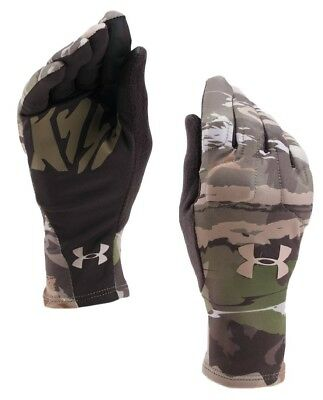 Under Armour Women's UA Scent Control Camo Liner Gloves (Ridge Reaper Forest)