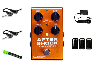 Source Audio One Series AfterShock Bass Distortion PRYMAXE PEDAL BUNDLE