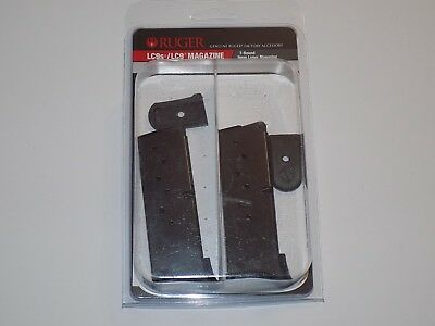 Ruger 90642 LC9 Ext 7 Round Mag LC9/LC9S/EC9S w/flat base NEW OEM Value 2 pack