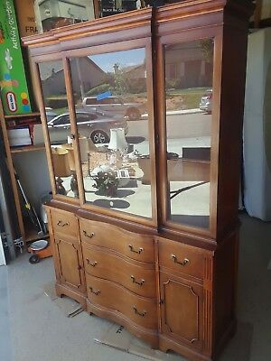 Duncan Phye China Cabinet Mahogany & Glass