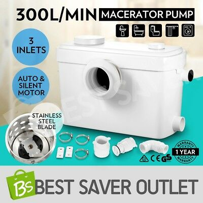 Auto Macerator Sewerage Pump Waste Water Toilet Marine Disposal Unit Laundry