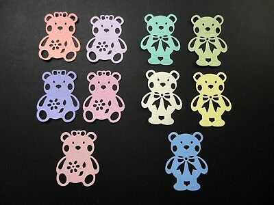 Teddy Bear Die Cut - Pkt 10