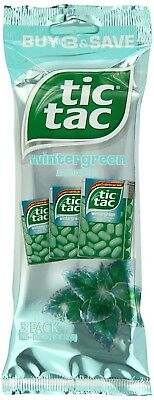 (Wintergreen, 3 Count (Pack of 12)) - tic tac Wintergreen Multi-Pack, 3 Count